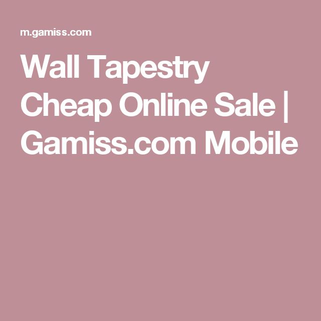 Wall Tapestry Cheap Online Sale   Gamiss.com Mobile