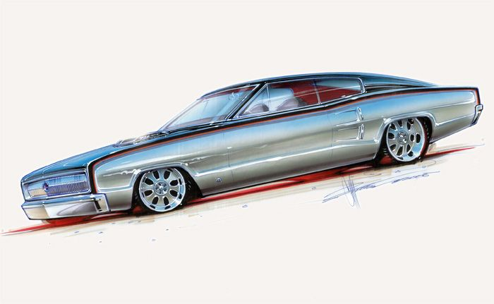 chip foose drawings overhaulin cars. Black Bedroom Furniture Sets. Home Design Ideas
