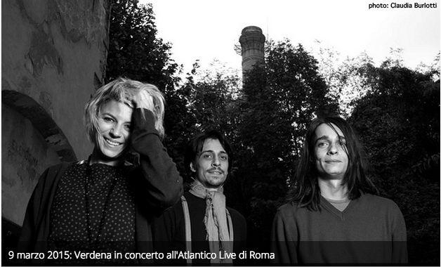 Il 9 marzo i Verdena in concerto all'Atlantico Live di Roma.