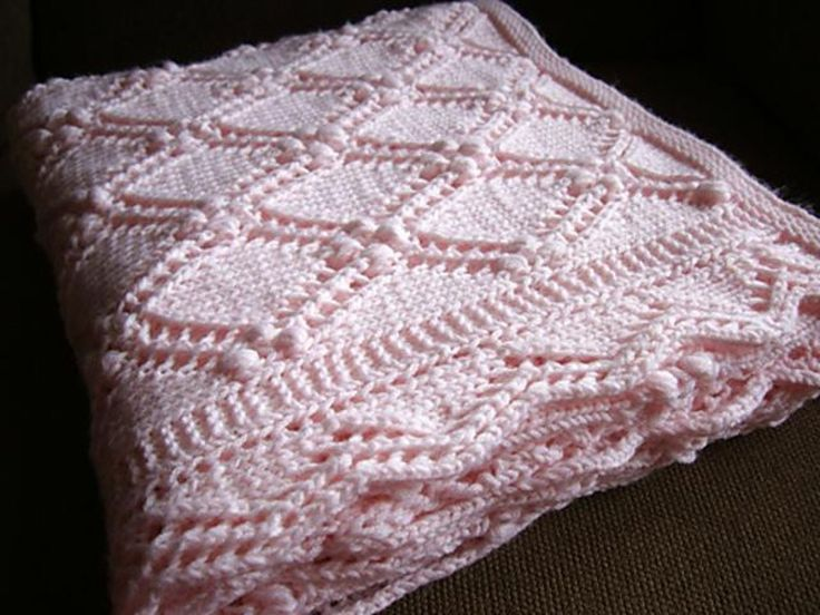 Estonian Princess Baby Blanket Knitting pattern by Sami Kaplan | Knitting Patterns | LoveKnitting