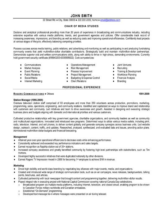 48 best Best Executive Resume Templates \ Samples images on - executive resume
