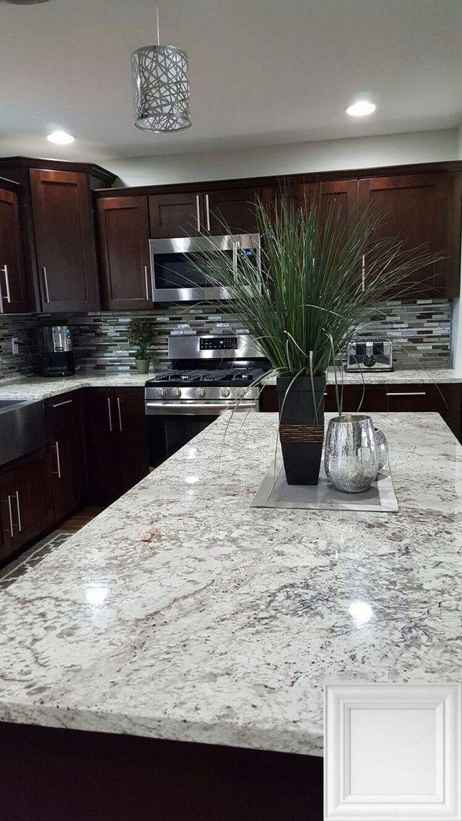 33 Cozy Kitchen Nook You Will Definitely Want To Try 10 Telorecipe212 Com Backsplash With Dark Cabinets Home Decor Kitchen Light Granite