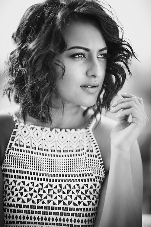 black and white, vogue, and sonakshi sinha image