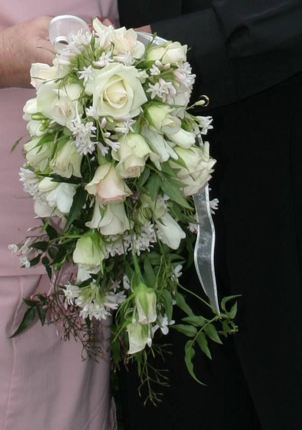 Lovely trailing bouquet by BellaRosa Flowers