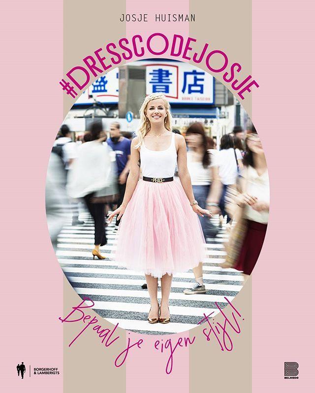 Tadaaaa! #cover #dresscodejosje  Hope you like it! XJ. #belmodo #borgerhofflamberigts @belmodoredactie @borgerhofflamberigts  Pre-order bol.com of standaardboekhandel.be