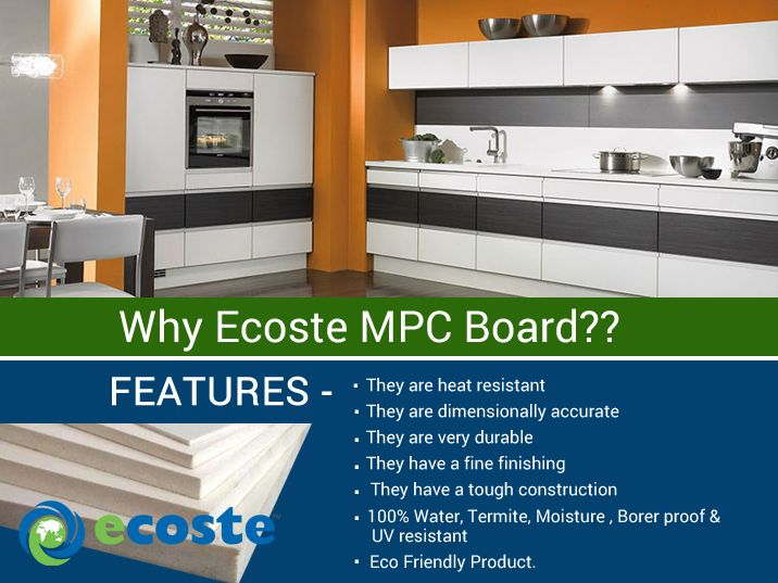 Features of Ecoste MPC Board