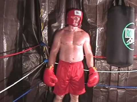 Boxer Buddy Boxing Gym Bagwork Big Muscles Man - YouTube