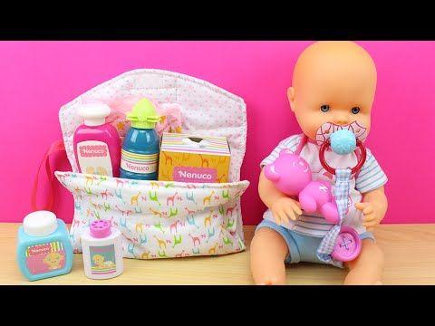 Bolso Cambiador y accesorios para la muñeca bebé  d8823d8c493