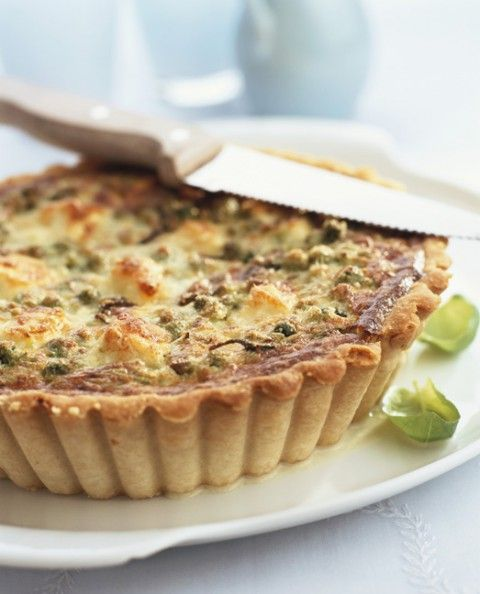 Spinach and Lentil Quiche with Chilean Extra Virgin Olive Oil