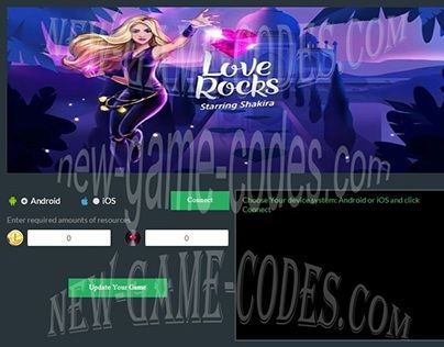 "Check out new work on my @Behance portfolio: ""Love Rocks starring Shakira Hack Cheats"" http://on.be.net/1PldwJS"