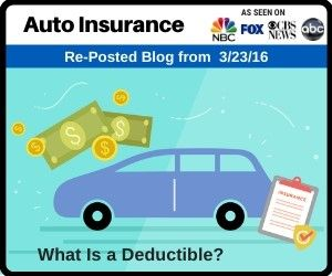Auto Insurance | What Is a Deductible? | Car insurance ...