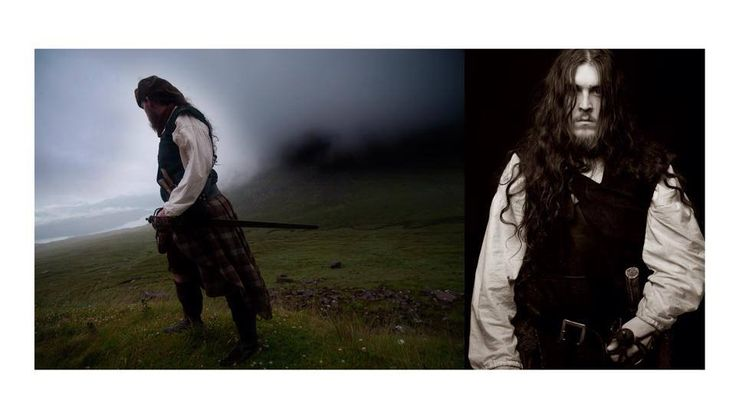 Clanranald Trust for Scotland - We sent a very reluctant QuarterMaster Dave on a photoshoot last week. He rocked it!