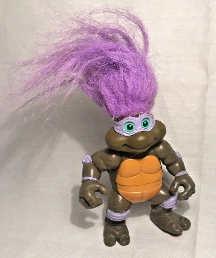 TMNT Troll Don Donatello Teenage Mutant Ninja Turtles Figure 1993 #PlaymatesToys