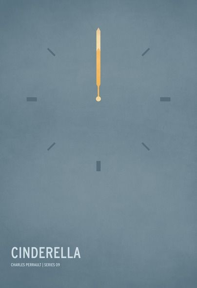 Fiabe in stile minìmal: i poster di Christian Jackson