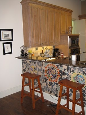 42 best images about KITCHEN   Island/Bar Wall Ideas on ...