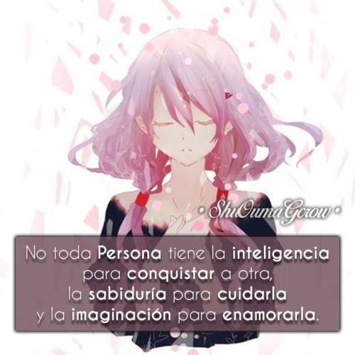 Anime Frases Anime Frases Sentimientos Guilty Crown Shoujo