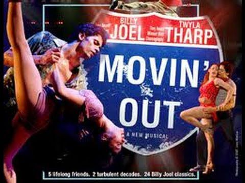 """Captain Jack"" – Movin' Out Music and Lyrics: Billy Joel Billy Joel's dynamite songs provided the score for this jukebox musical about 1960's youth told through dance.  The captain referred to in t…"