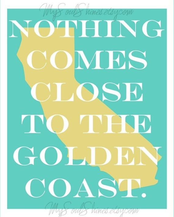 nothing comes close to the golden coast