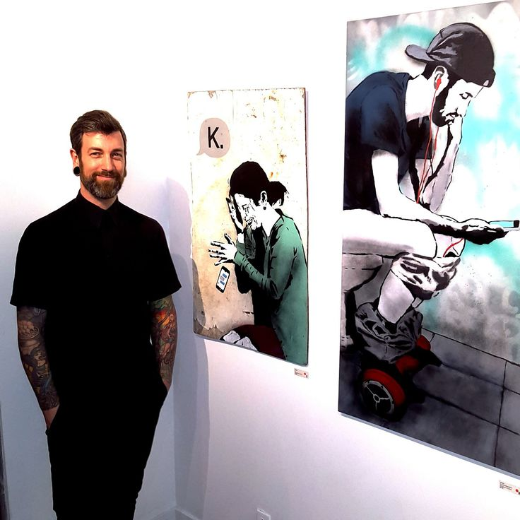 Curator Chris Bentzen launched latest exhibition at Hot Art Wet City | Main Street | Article & Photography by Helen Siwak | Vancouver, BC | Support the Arts