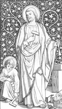 Top 25 ideas about Saint Joseph on Pinterest | St joseph, St ...