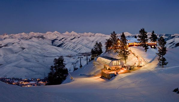 If opting for low-key Sun Valley, why not stay at America's very first ski resort destination? The Sun Valley lodge- Idaho  Read more: 5 Dreamy U.S. Ski Resorts | PureWow National  Sign Up For PureWow's Daily Email via @PureWow