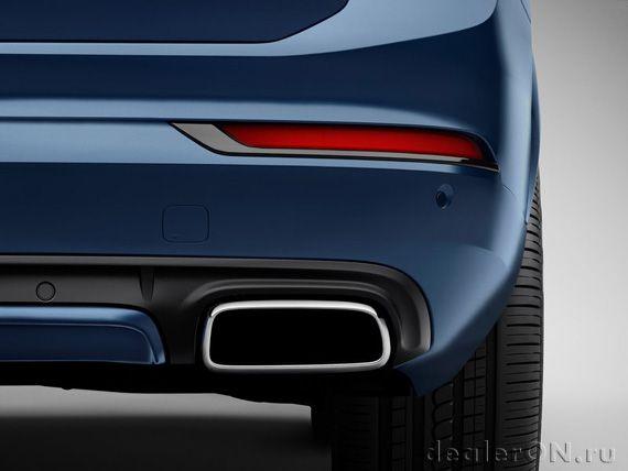 Кроссовер Вольво ХС-90 R-Design 2015 / Volvo XC90 R-Design 2015 – выхлопная труба
