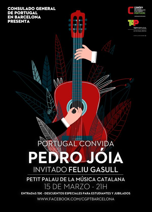 Concert Poster by Ana Seixas, via Behance