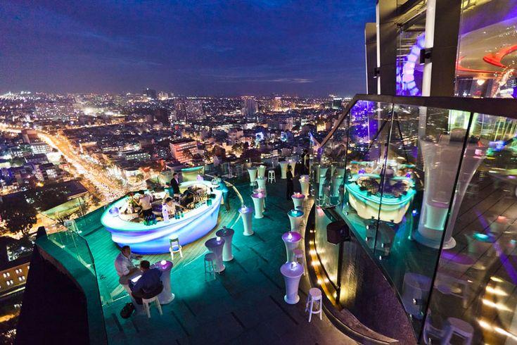 Chill Rooftop Bar Ho Chi Minh City Vietnam Pinterest