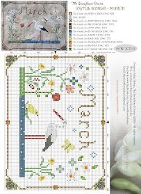 The Snowflower Diaries: JOYFUL WORLD - MARCH (free pattern)