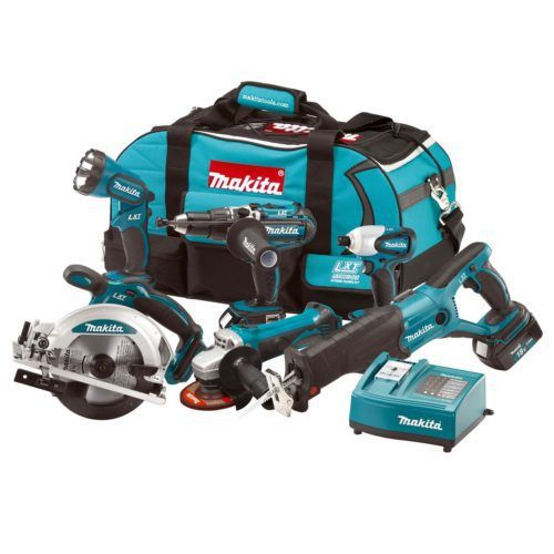 MAKITA LXT600 18V LXT 6 PIECE COMBI KIT (3X3AH), 500x500, power tools, power tools uk, power tool store, cheapest place for power tools