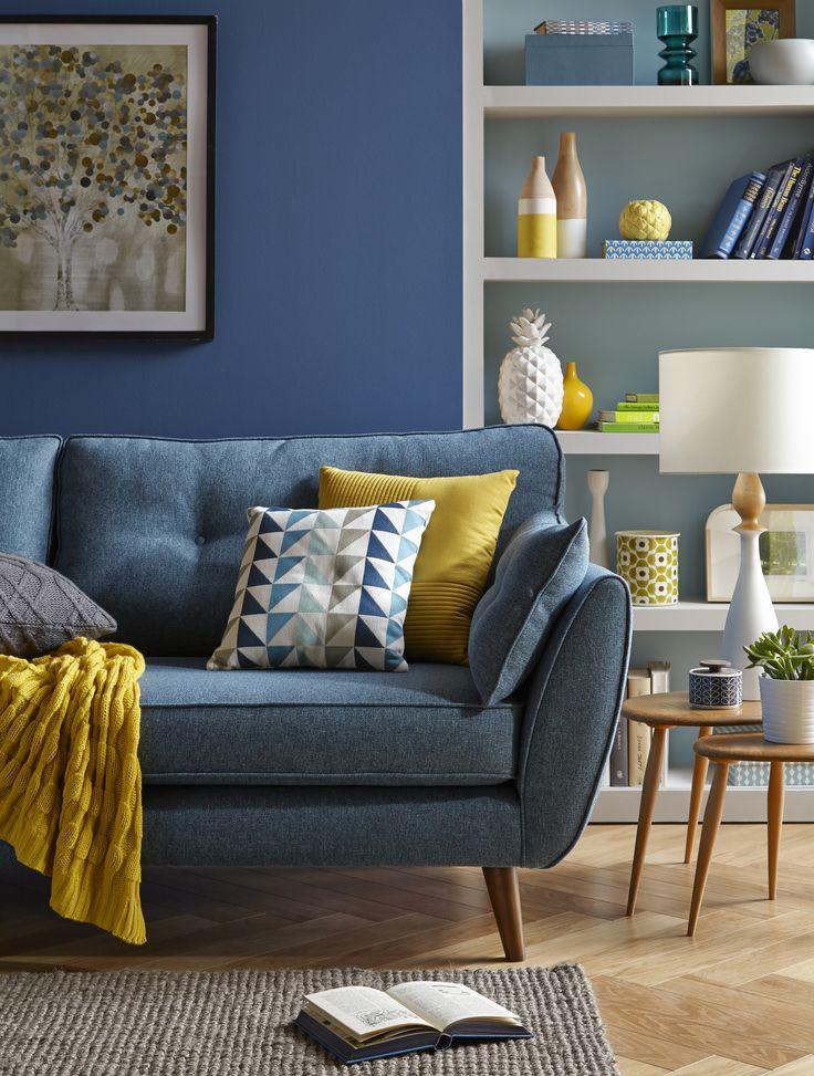 Die 8 besten Bilder zu sofa auf Pinterest | Akzentwand, Blau und ...
