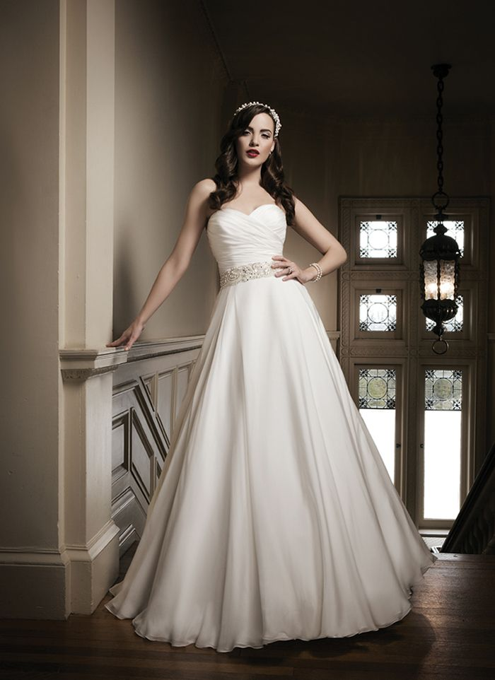 Justin Alexander 8690 Silk A-Line Wedding Dress