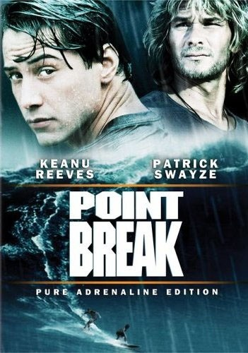 Point Break (1991): Great Movie, Pointbreak, Points Break, Patrick'S Swayze, Movies, Fbi Agent, Favorite Movie, Break 1991, Keanu Reeves