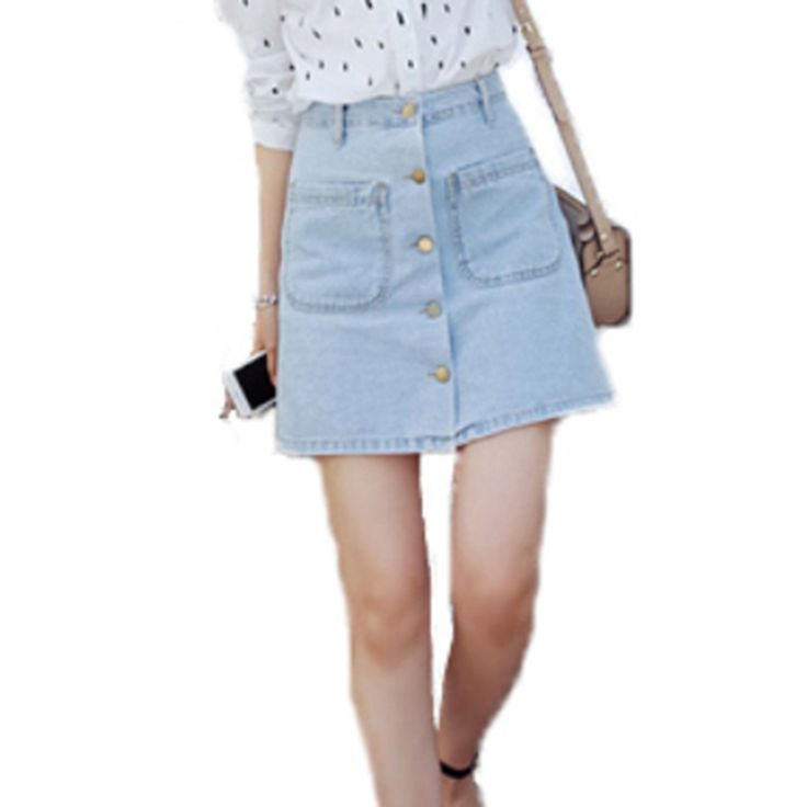 Find More Skirts Information about Summer 2016 big bust pockets button front denim skirt women slim slimming skirt bag hip,High Quality dress shoes for flat feet,China bag straw Suppliers, Cheap dress hats for women wholesale from Comme t'y es belle! on Aliexpress.com