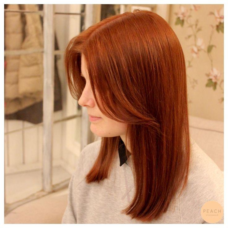 Koppar hårfärg