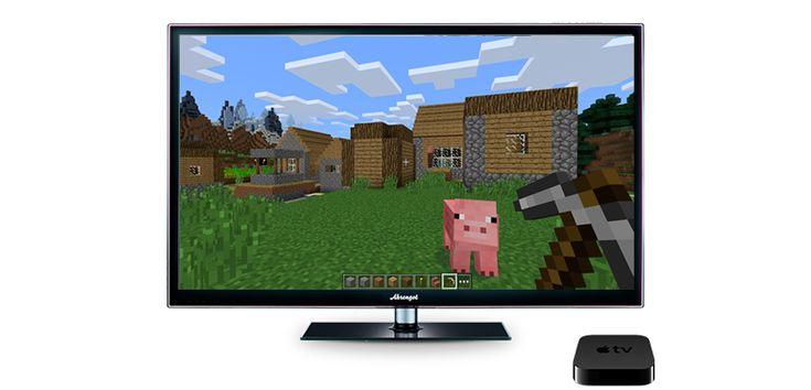 Minecraft, el famoso mundo pixelado, también llegará al Apple TV 4 # Hace aproximadamente media hora, Apple ha dado comienzo a la keynote en la que todos esperamos que presenten los nuevos Mac, cuya novedad más esperada es la de la barra superior que sustituirá a la ... »