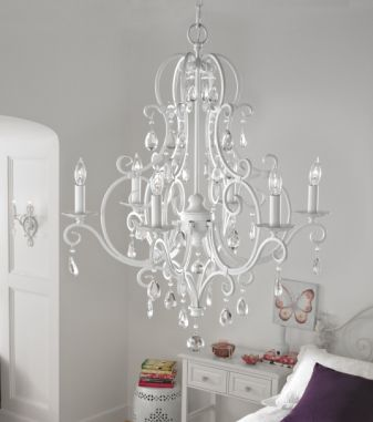 feiss chateau shabby chic chandelier - Shabby Chic Chandelier