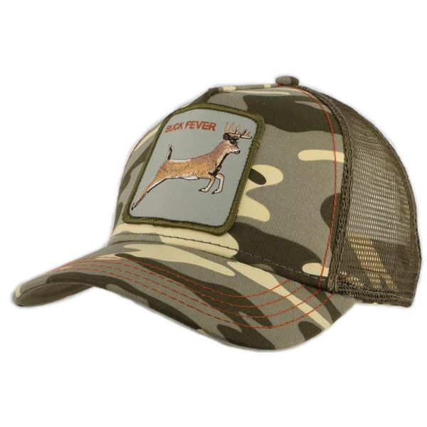 Casquette Trucker Goorin Bros 4 Points camouflage kaki #nouveaute @goorinbros sur Hatshowroom.com #bonplan #mode