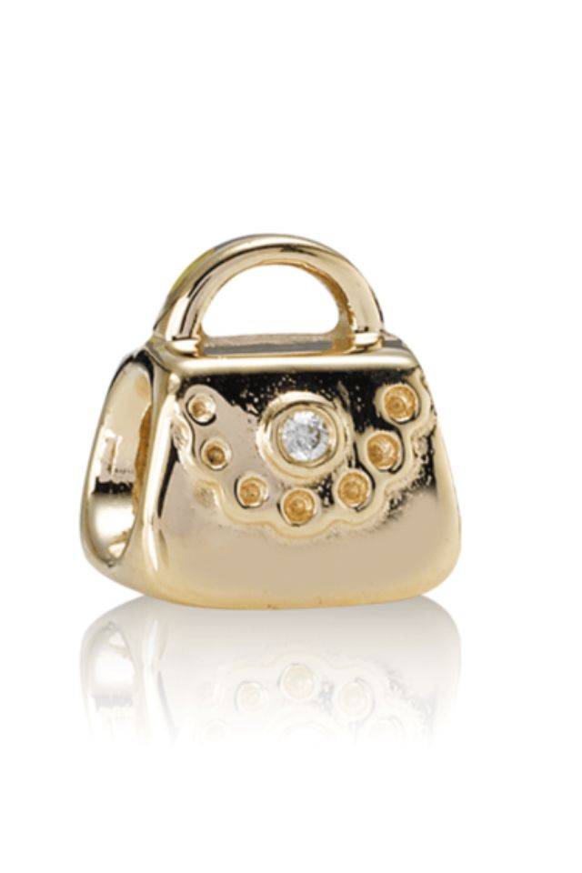 pandora gold handbag charm pandora shoes handbags