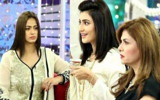 Jago Pakistan Jago with Sanam Jung full 18 March 2016.Jago Pakistan Jago on Hum TV.After Fahad Mustafa's fortunate tenu