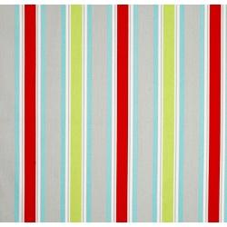 Stripe in Multi Cotton Twill ft