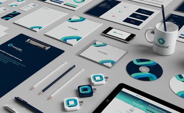 frameLOGIC / Rebranding on Branding Served