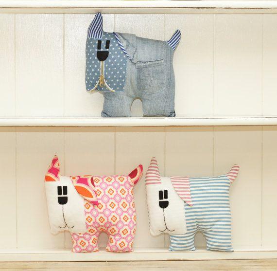 Pdf dog pattern. Children room decoration.