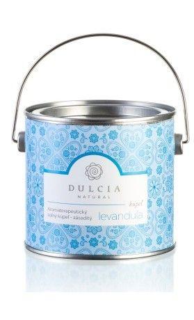 Aromaterapeutická solná koupel Dulcia (550 g). Využijte naší dopravy zdarma při nákupu nad 890 Kč nebo výdejního místa zdarma v Praze. Přijďte se na výrobky podívat osobně do našeho showroomu.