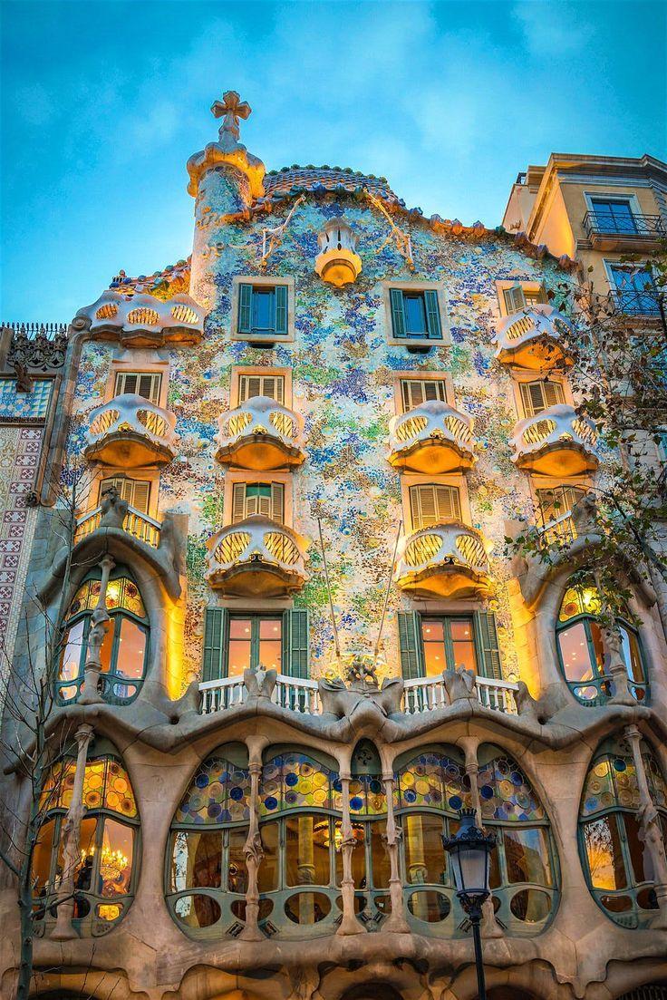 Top 20 Free Things To Do In Barcelona Gaudi Casa Batlló Gaudi Barcelona