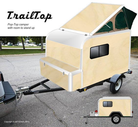 """TrailTop"" modular trailer topper building components - Expedition Portal"