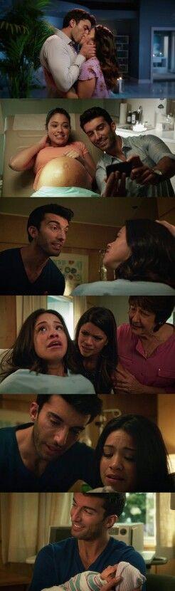 """#JaneTheVirgin 1x22 """"Chapter Twenty Two"""" - Jane and Rafael ❤️❤️❤️❤️❤️❤️❤️"""