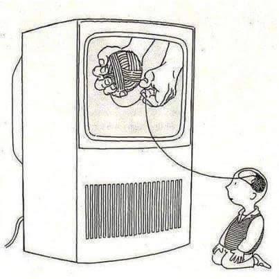 Ilustraciones que muestran nuestra triste realidad