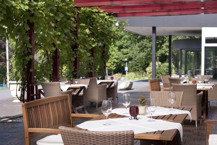 terrace at Wyndham Garden Lahnstein Koblenz Hotel