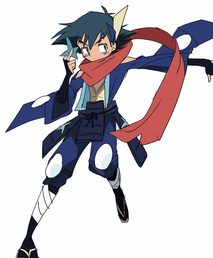 Ninja Greninja Ash Greninja Ash Ash Greninja Gijinka Shout Out To The Artist Pokemon